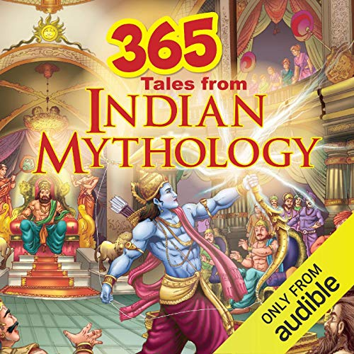 365 Tales of Indian Mythology audiobook cover art