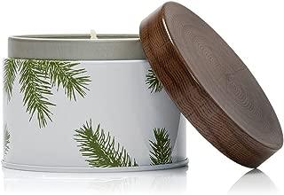 Thymes - Frasier Fir Pine Needle Decorative Tin Candle, 40 Hour Burn Time - 6.5 Ounces