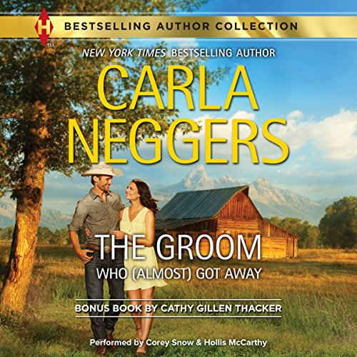 The Groom Who (Almost) Got Away audiobook cover art