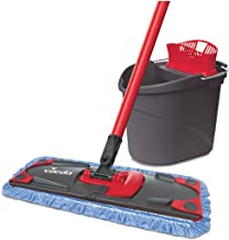 Vileda Ultramat Microfiber Mop and Bucket Set with Power Press System, Extra feucht