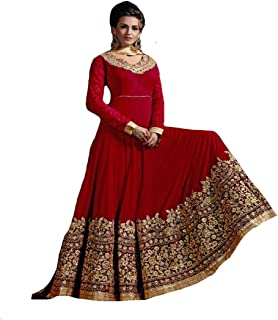 Ethnic Party wear Anarkali Suit Salwar Dupatta Ceremony Collection Gown velvet