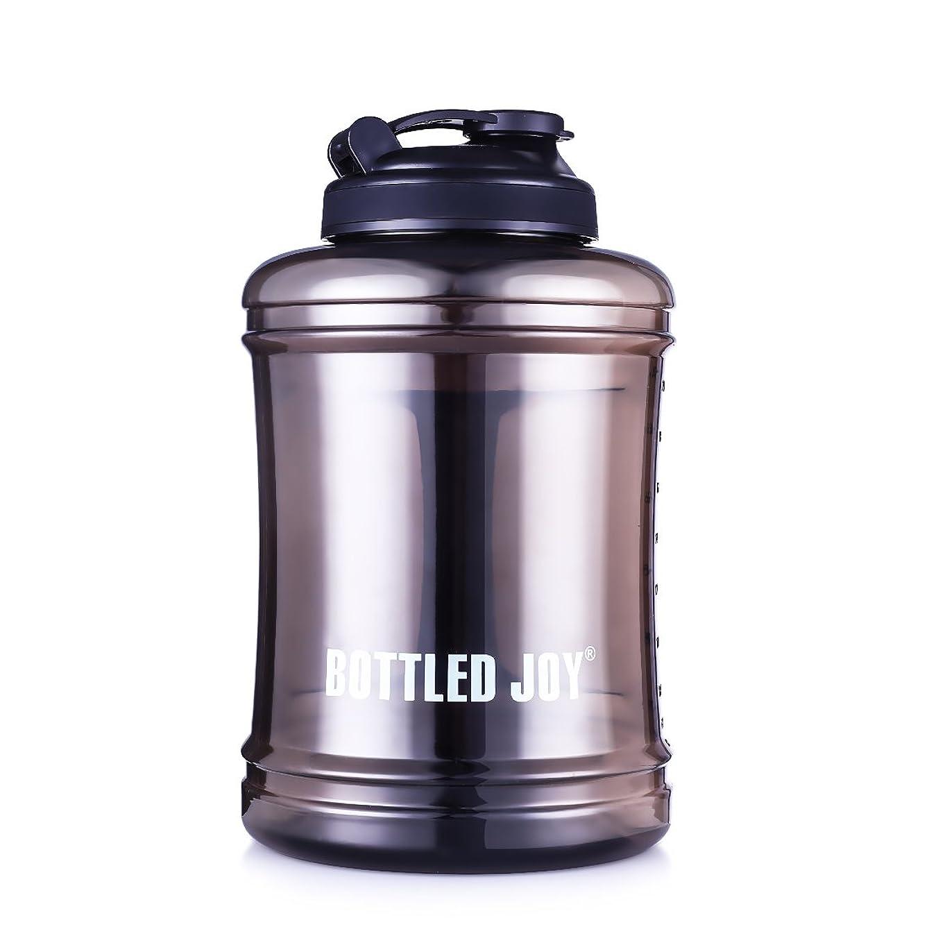 ナチュラルライドプロフェッショナルZDZDZ ウォーターボトル-大容量水タンク BPA無し スポーツ/レジャー/ジム/アウトドア/キャンプ/トレーニング/ハイキング/自転車/防災など用 2.5L