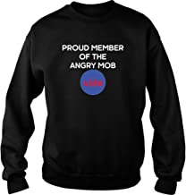 Merry Pets Apparel Proud Member The Angry Mob Vote Sweater Unisex, Gifts Midterm Election Day 2018