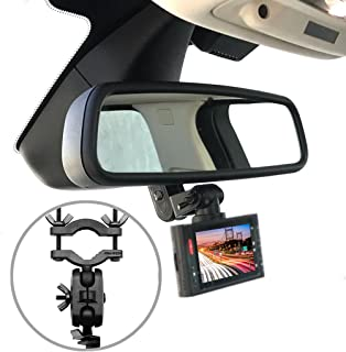 Pruveeo Dash Cam Mirror Mount Kit for 95% Dash Cam and GPS