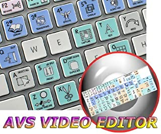 AVS Video Editor Galaxy Series New Keyboard Labels Shortcuts are Compatible with Apple