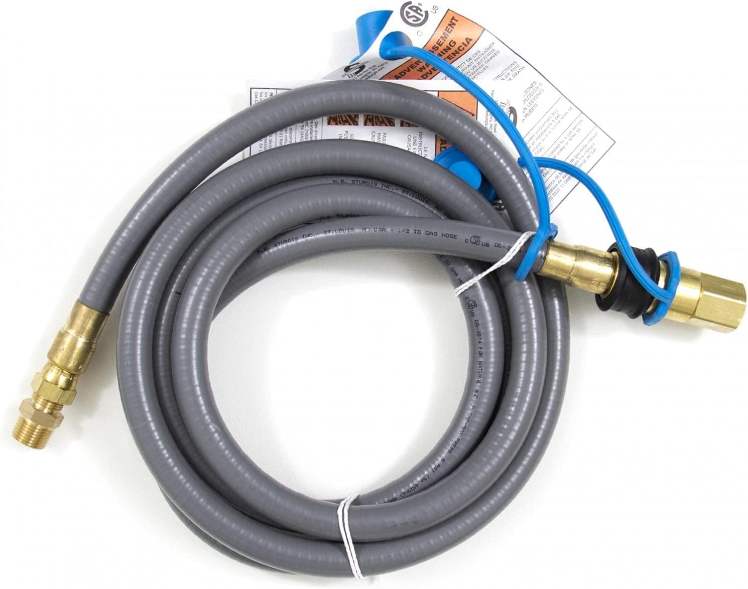 NEW before selling Blaze 10 Ft. Natural Gas Bulk Propane Quick - Disconnect Hose Max 79% OFF W