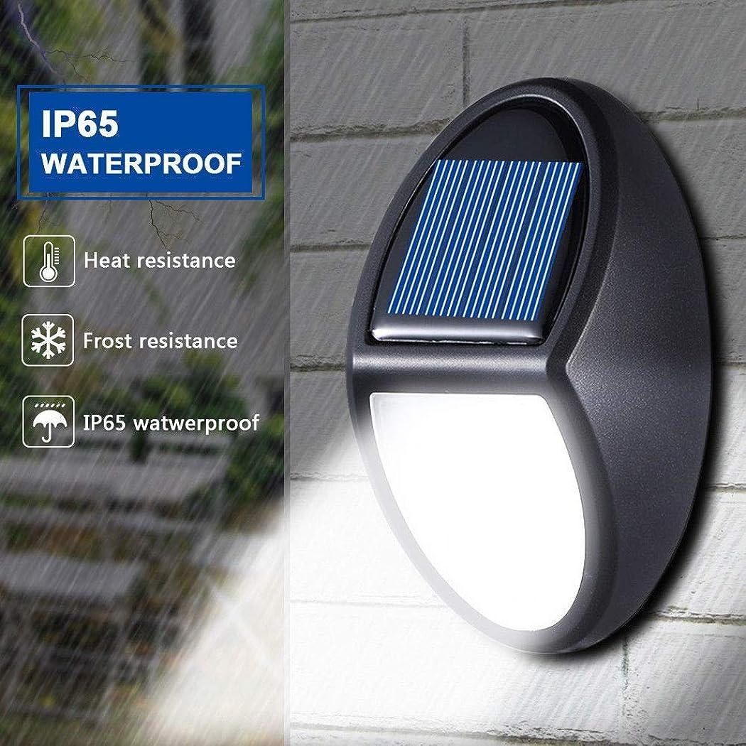オーチャード飢えおっとDecdeal ソーラーライト ミニウォールランプ 10 led 高輝度 モーションセンサー ガーデン安全 ポータブル 屋外 IP65 防水 壁掛け照明 門灯 外灯 照明器具