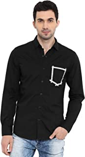 Mufti Men's Solid Slim fit Casual Shirt