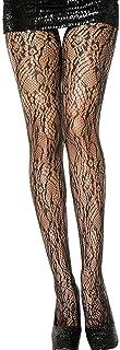 MUSIC LEGS Women's Lace Spandex Pantyhose