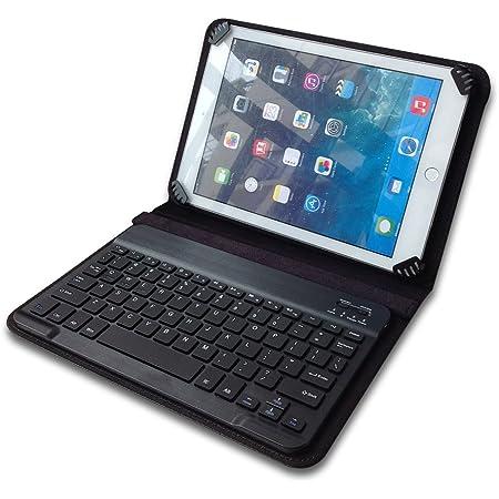 Funda universal con teclado Bluetooth para tablet de 10