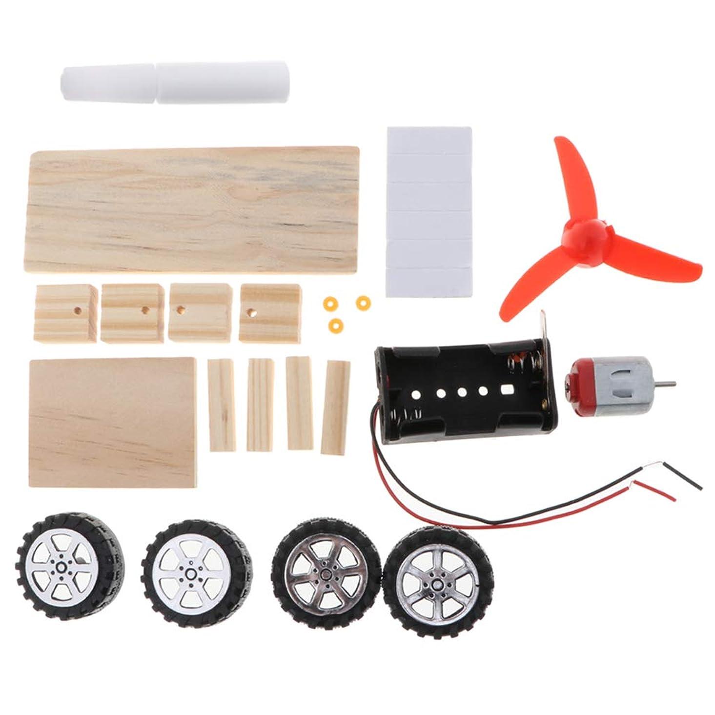 合金悪意のある迫害するCUTICATE DIY 風力車モデル ミニ風車モデル キット 学校物理学科学 ステム教育玩具