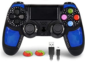 Wireless Controller for PS4 Compatible with Playstation 4 - OUBANG Remote Control with Sixaxis,Touchpad (Sapphire)