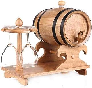yunyu Seau à Glace Refroidisseur de bière Pince de Refroidisseur de Baril de vin Fûts de chêne de 5 litres, Porte-Verres à...