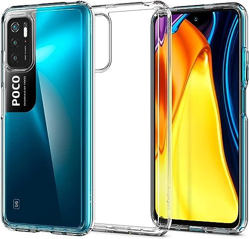 high quality Spigen Ultra Hybrid Designed for Poco M3 Pro 5G / Redmi Note 10 5G / high quality Redmi Note 10T 5G Case discount (2021) - Crystal Clear outlet online sale