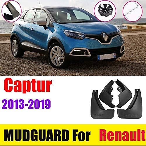 BTSDLXX 4 Pcs Set Auto Kotflügel für Renault Captur QM3 2013-2019, Vorne Hinten Kotflügelverbreiterungen...