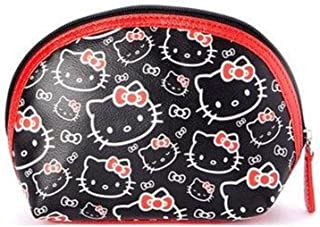 black and red hello kitty