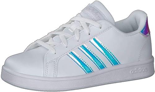 adidas Grand Court K, Chaussure de Tennis Mixte Enfant