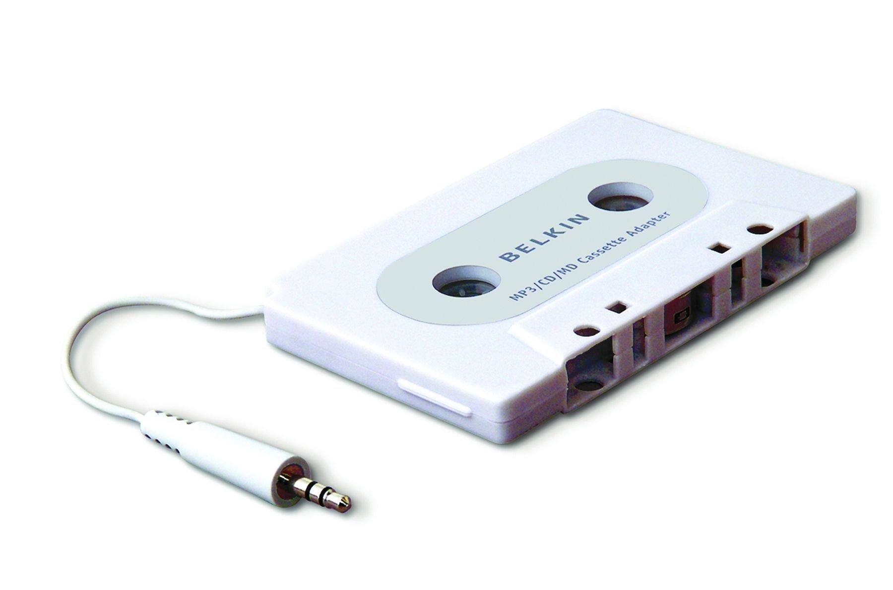 Belkin F8V366EAAPL 3.5 mm jack blanco Adaptador cassette