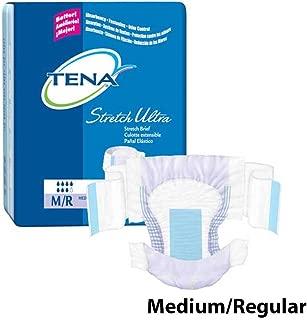 TENA Stretch Ultra Brief, Medium / Regular, Heavy Absorbency, 67802 - Case of 72