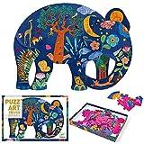 Djeco - Puzzle Art Elefante