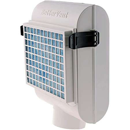 BetterVent Indoor Dryer Vent - Protects Indoor Air Quality and Saves Energy, Electric Dryers Only, Kit Includes Lint Filter
