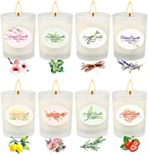 Scented Candles Aromatherapy Gifts for Mom Sets for Women Glass Jar Candle Luxury Natural Soy Wax Fragrance Essential Oils Bath Relaxation Birthday Anniversary Gift