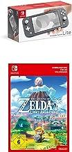 Nintendo Switch Lite, Standard, grau + The Legend of Zelda: Link's Awakening | Switch - Download Code [Preload]