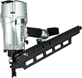 "Hitachi NR83A5 3-1/4"" Plastic Collated Framing Nailer with Rafter Hook"