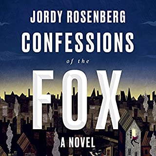 Confessions of the Fox audiobook cover art