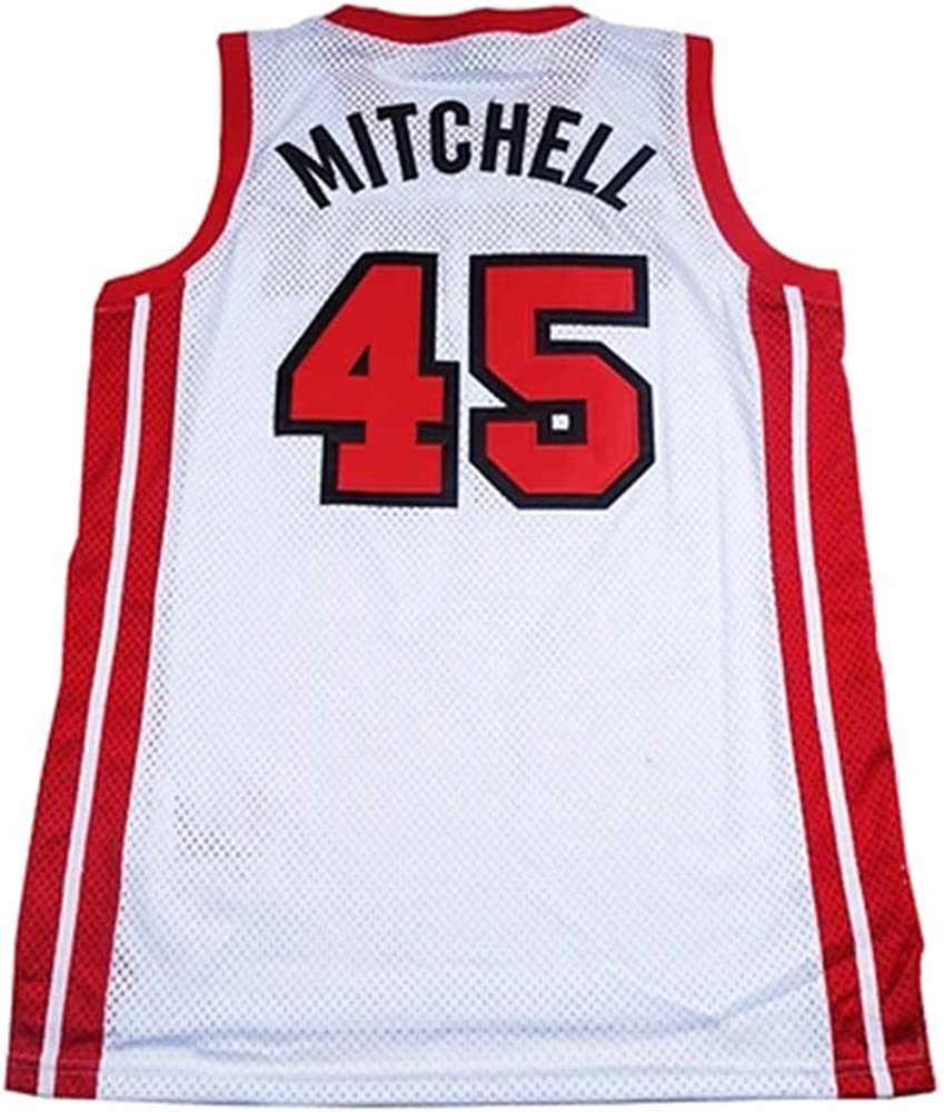 Amazon.com: ETN Donovan Mitchell High School Basketball Jersey ...