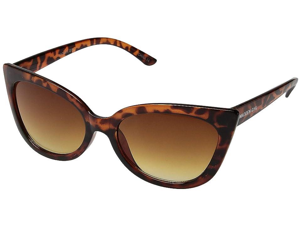 Steve Madden Madden Girl MG899110 (Tortoise) Fashion Sunglasses