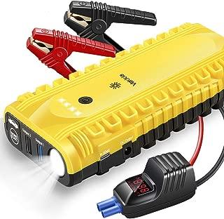 K Tool 74393 Jump Starter Battery Booster Mini Pack For Car Or Truck Gas Diesel