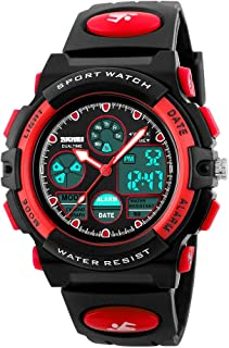 ATIMO Kids Digital Watches, Multi Function Waterproof...