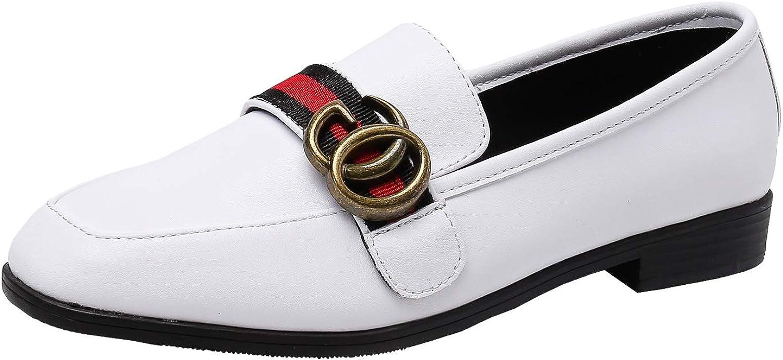 ModenPeak ModenPeak ModenPeak Kvinnors Penny Loafers Slip On läder Flats skor  Beställ nu