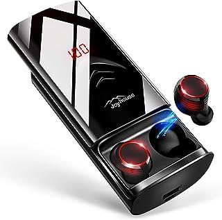 【2019革新デザイン 260時間再生 最新Bluetooth5.0+EDR搭載】 Bluetooth イヤホン LEDディスプレイ Hi-Fi 高音質 3Dステレオサウンド ...