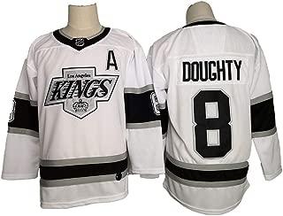 Eltawak Men's #8 Doughty Jersey Kings Drew Black Breakaway Player Jersey Ice Hockey Sportswear Jersey