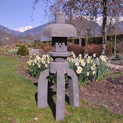 Wanda collection Linterna Japonesa Pagoda de Piedra de Lava