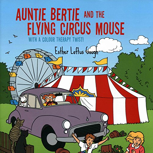 Auntie Bertie and the Flying Circus Mouse audiobook cover art
