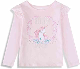 71210ca84782d Guess T-Shirt Fille Manches Longues Licorne Rose