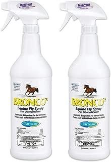 Bronco e Equine Fly Spray (32 oz Trigger Spray - 2 Pack)
