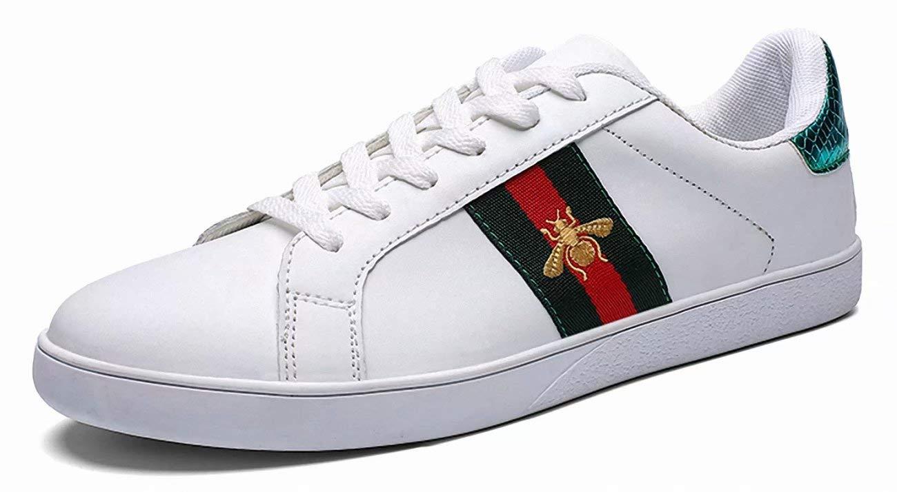 维恩克 春夏男女鞋 透气板鞋 百搭情侣鞋 跨境爆款小白鞋系带休闲鞋子1