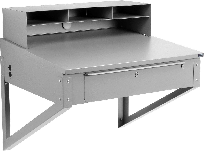 Global Industrial Wall Mount Shop Desk 70% OFF Outlet 34