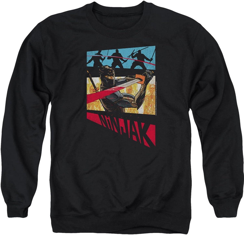 Ninjak Valiant Comics Comic Panel Adult Crewneck Sweatshirt