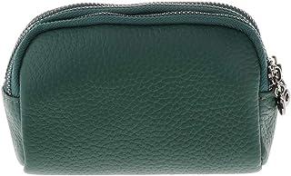 Evalue Fashion Mini Wallet Ladies Zipper Zero Wallet Credit/ID Holder Green