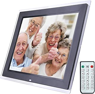 Lihuoxiu Consumer Electronics 10.1 Inch 1024 x 600//16:9 LED Widescreen Suspensibility Digital Photo Frame with Holder /& Remote Control Support SD//MicroSD//MMC//Micro USB//USB Flash Disk Black