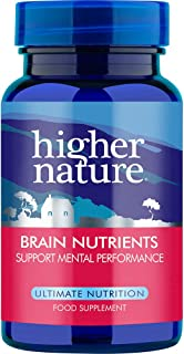 Higher Nature Advanced Brain Nutrients Pack of 180