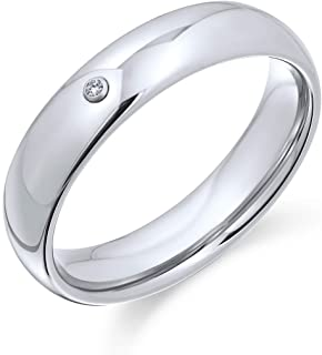 Bling Jewelry comodità Tungsten Wedding Band 6mm