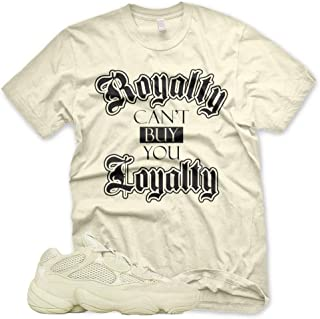 New ROYALTY T Shirt for Adidas Yeezy 500 Super Moon Yellow Desert Rat
