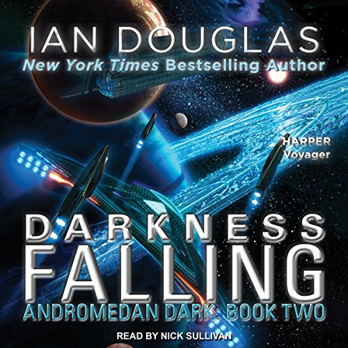 Darkness Falling audiobook cover art