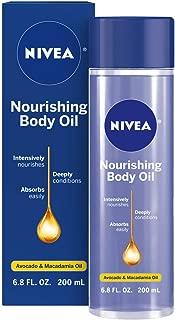 NIVEA Nourishing Body Oil 6.8 fl oz